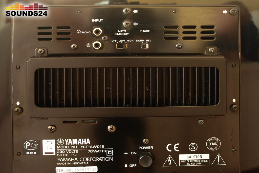 Yamaha YST-SW015 Subwoofer