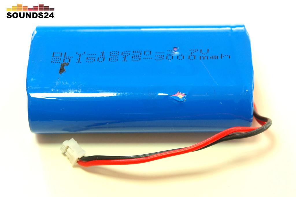 2x 18650 Lithium-Ionen-Akkus mit 3000mAh