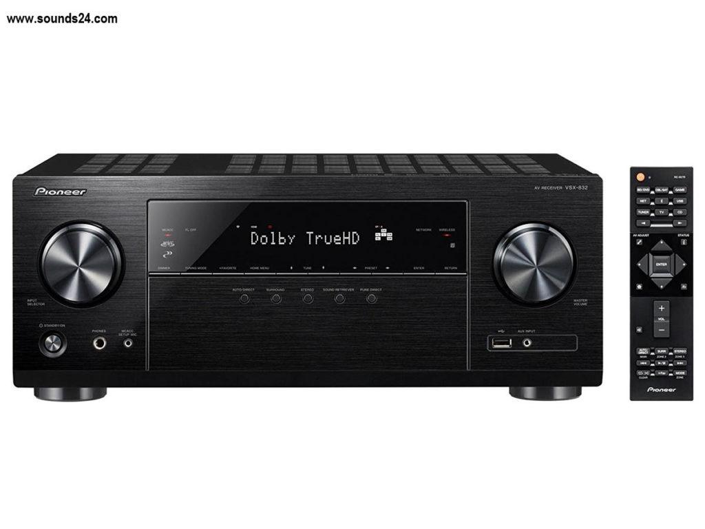 Pioneer VSX-832 Dolby Atmos 5.1 AV Receiver