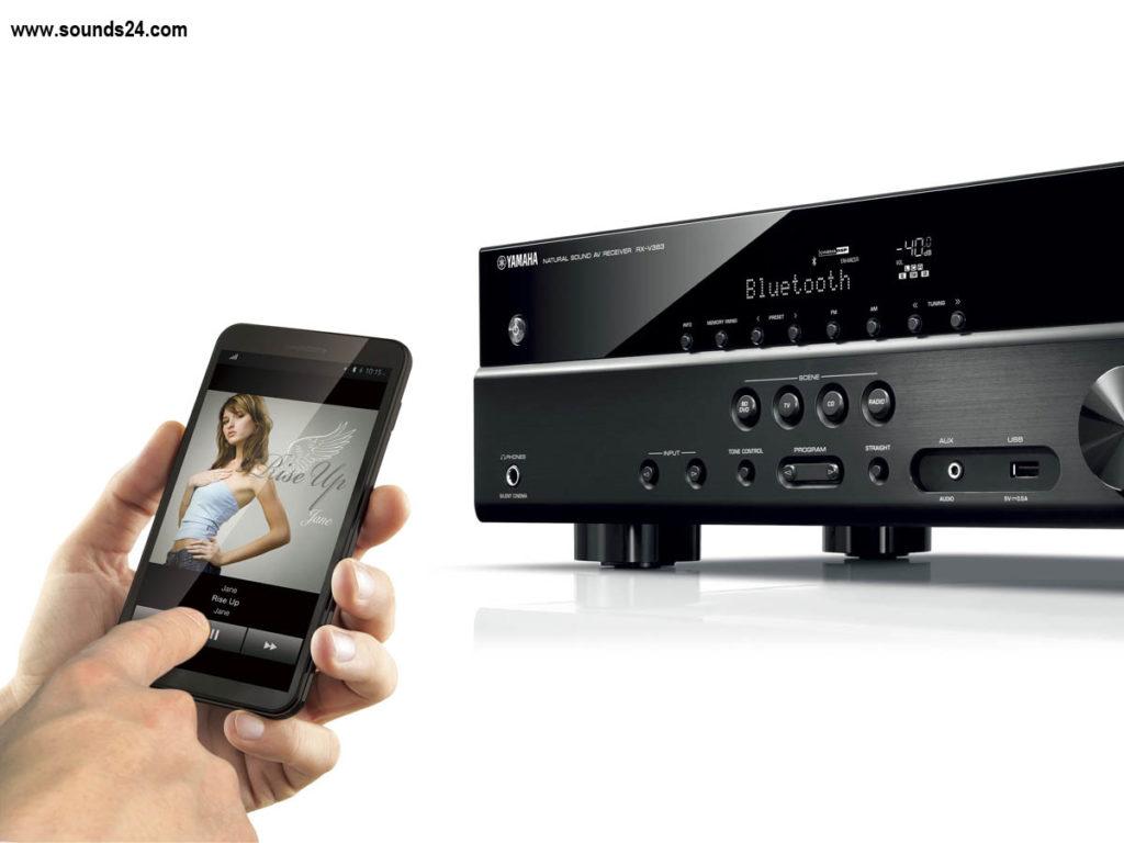 Yamaha RX-V383 5.1 AV Receiver