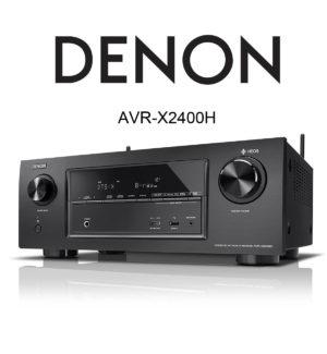 Denon AVR-X2400H 7.2 Kanal AV-Receiver