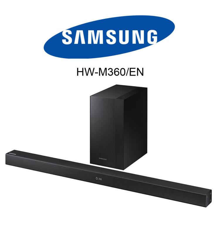 die samsung hw m360 en kabellose 2 1 soundbar im test. Black Bedroom Furniture Sets. Home Design Ideas