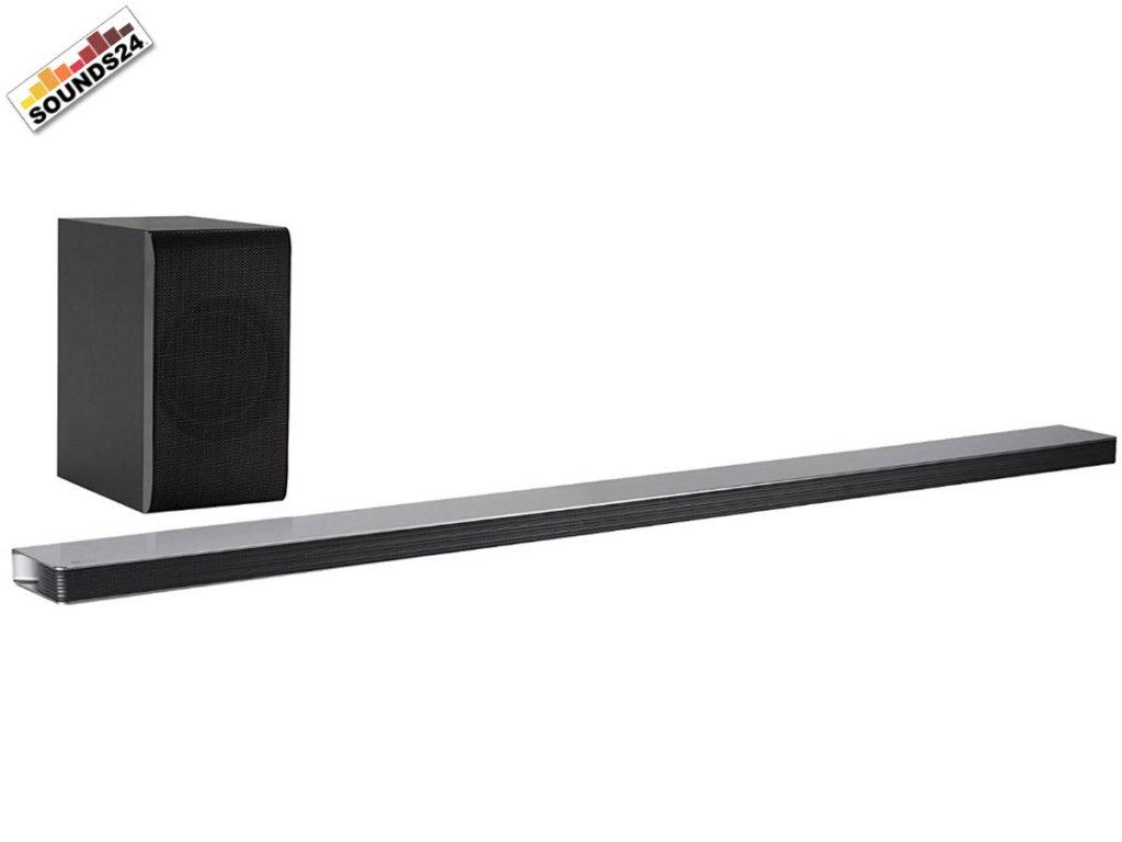 LG SJ8 Soundbar mit kabellosem Subwoofer