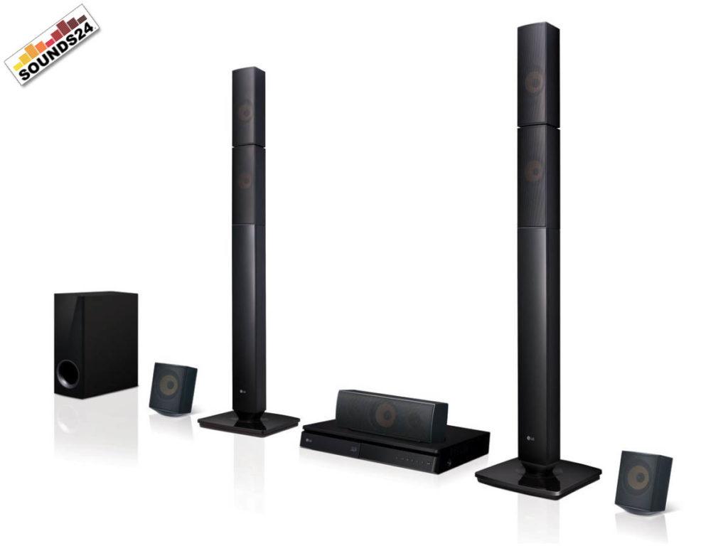 LG LHB645N Blu-Ray 5.1 Soundsystem