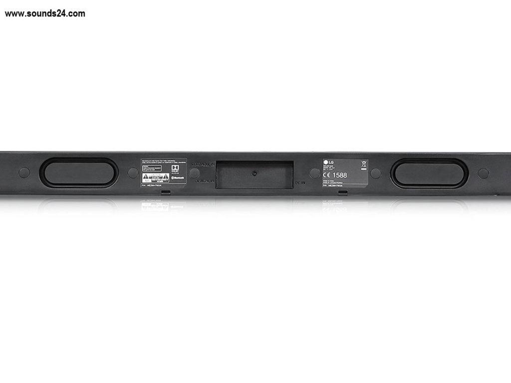 Die LG SJ1 2.0 Soundbar