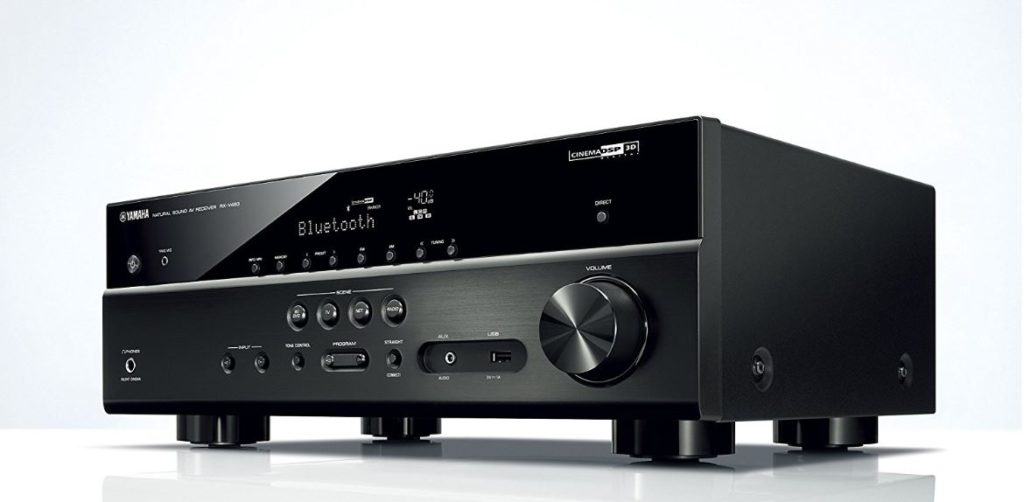der yamaha rx v483 av receiver mit 5x 115 watt im test. Black Bedroom Furniture Sets. Home Design Ideas