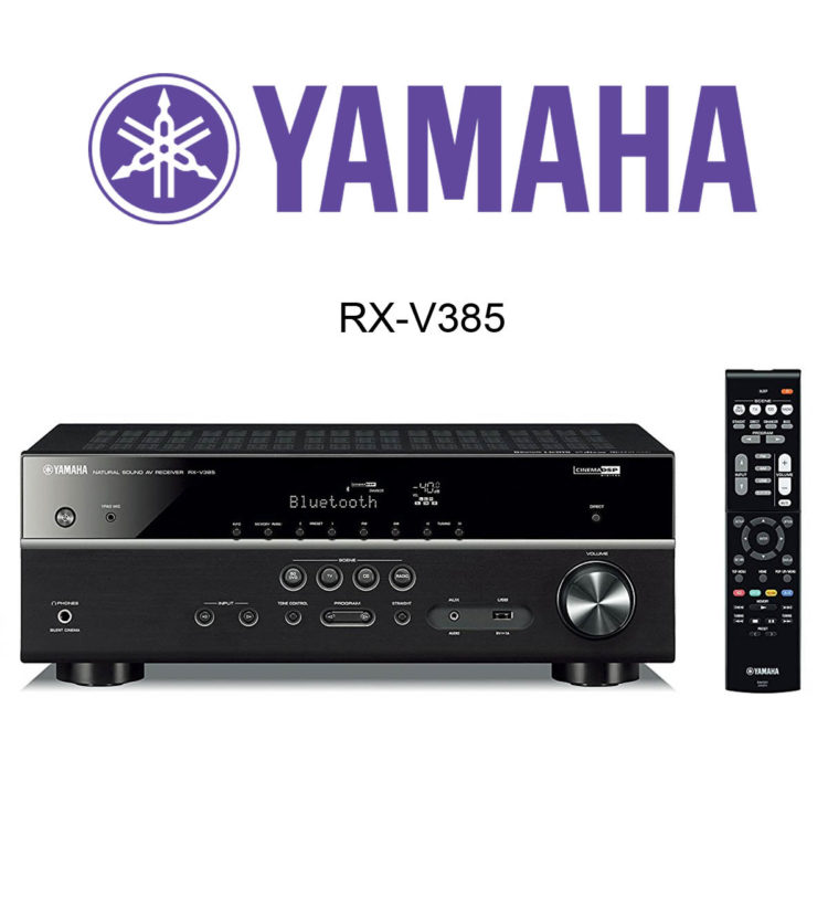 yamaha rx v385 av receiver im test. Black Bedroom Furniture Sets. Home Design Ideas