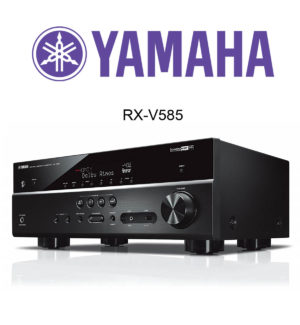 Der Yamaha RX-V585 7.2 AV-Receiver im Test