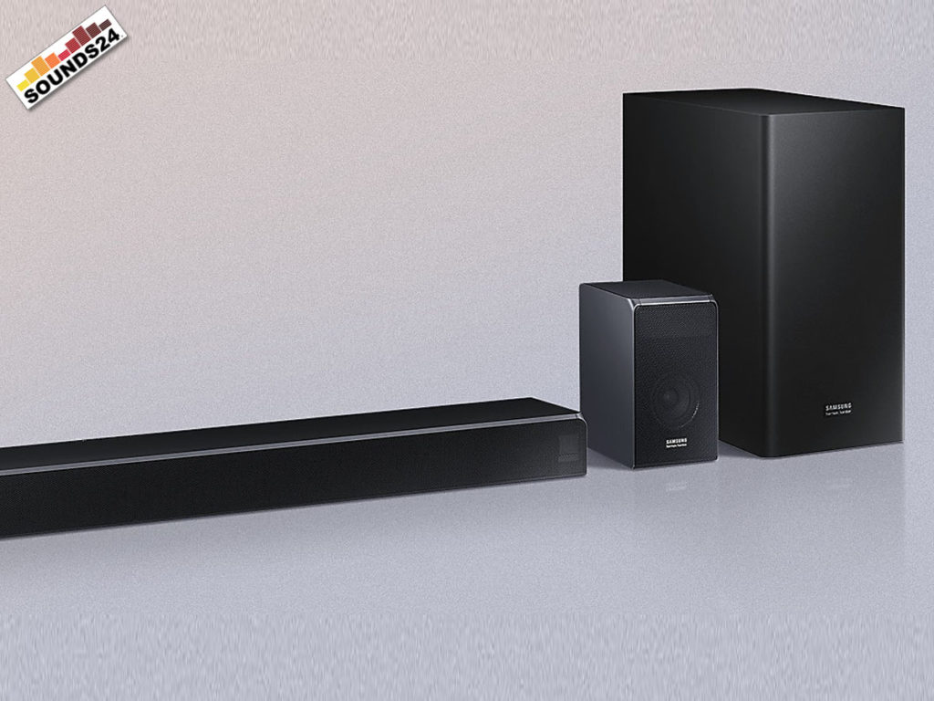 Samsung HW-Q90R Soundbar mit 7.1.2 Kanälen