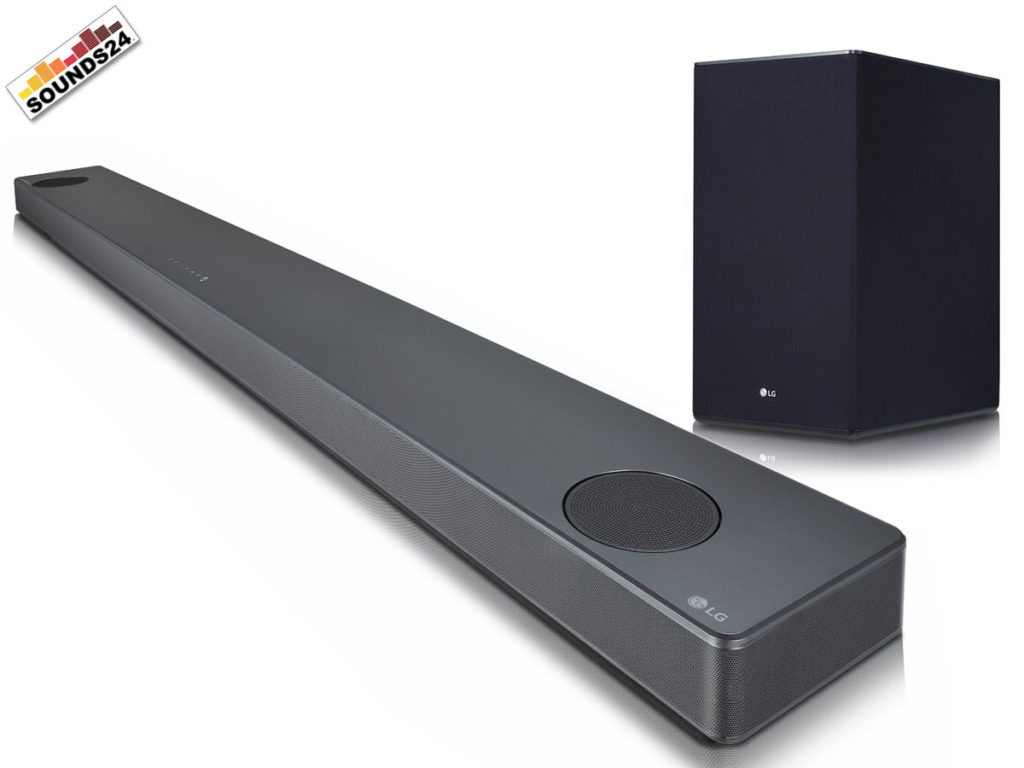 LG SL10YG Soundbar. Ein High End 5.1.2 Kanal Soundsystem mit 570 Watt