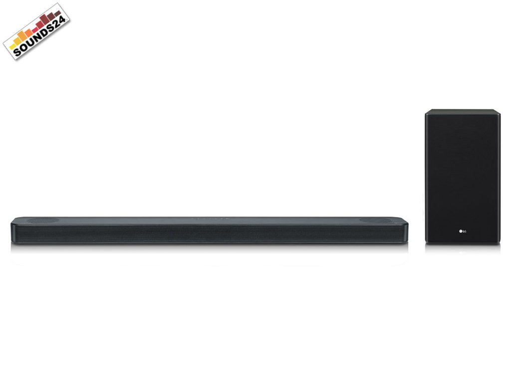 LG SL8YG Soundbar mit Dolby Atmos und DTS:X